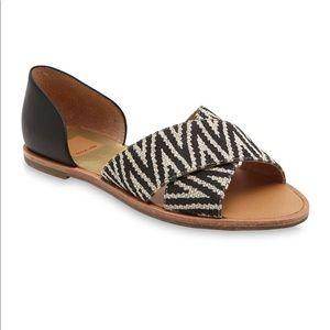 Dolce Vita Delila Crisscross two tone  Sandals